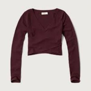 Abercrombie and Fitch Cross Crop Top